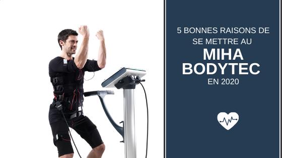 Cinq bonnes raisons de se mettre au Miha Bodytec avec Sowaï en 2020 !
