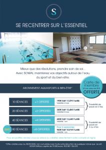 Découvrez notre offre de rentrée 2020 - Centre Sowaï Lille - Aquasports et bien-être